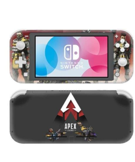 APEX LEGENDS ロゴ キャラクター クールデザイン 任天堂switch Lite専用 ビニールステッカー デカール 汚れ防止 スキンステッカー 11タイプ