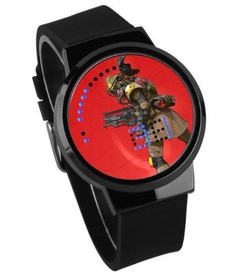APEX LEGENDS ロゴ イラスト 文字盤 ウォータープルーフ LED 腕時計 男女兼用 04