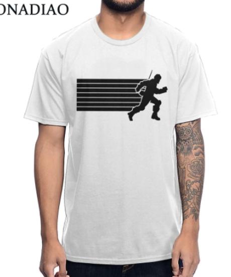 APEX LEGENDS ミラージュ フロントプリント 半袖 メンズ ホワイトカラー ユニーク Tシャツ S~4XL