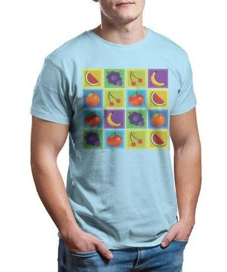 【備考欄サイズ要記載】Fall Guys フォールガイズ ミニゲーム パーフェクトマッチ ステージタイルプリント メンズ 半袖 Tシャツ 選べる11カラー S~6XL