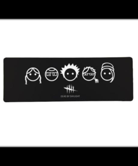 Dead by Daylight キラー ロゴデザイン ゲーミング マウスパッド 40×90cm 発光無し シンプル ロングマウスパッド 選べる4柄