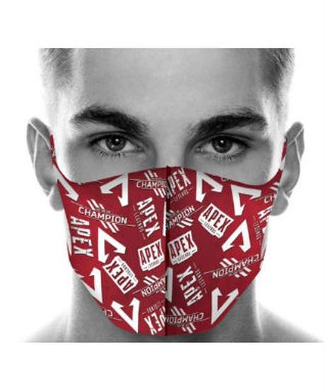 【3種選択可/期間限定】APEX LEGENDS フルプリント 洗えるマスク 1Pc ポリエステル&コットン セット購入で無料プレゼント