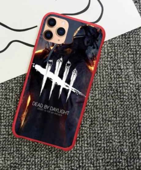 【備考欄要機種記載】Dead by Daylight  全面プリント キャンディカラー iPhoneケース 12 12Pro 12ProMAX 12mini対応 バックカバー