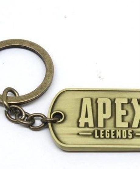 APEX LEGENDS ヴィンテージテイスト ロゴ キーホルダー メタル キーチェーン