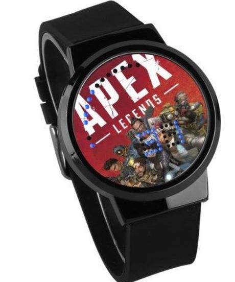 APEX LEGENDS ロゴ イラスト 文字盤 ウォータープルーフ LED 腕時計 男女兼用 03