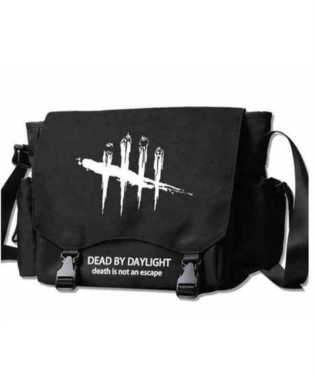Dead by Daylight ロゴ シルエットデザイン カジュアル ショルダーバッグ バックル止め メッセンジャーバッグ 選べる2タイプ
