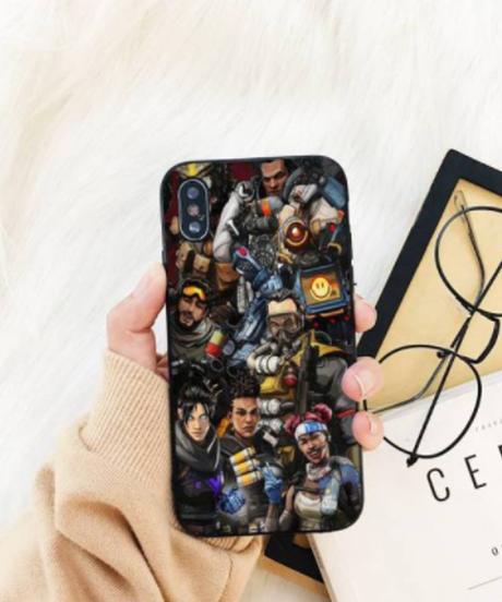 【備考欄要機種指定】APEX LEGENDS キャラクター ロゴデザイン iPhone12 12Pro 12ProMAX 12mini対応 iPhoneバックケース ソフトTPU 選べる6柄
