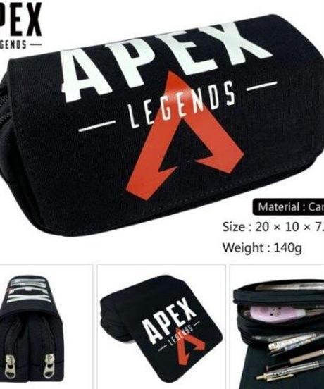 APEX LEGENDS ロゴプリント マルチファンクション バッグ 筆箱 ペンケース 選べる4カラー