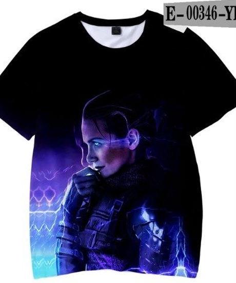 APEX LEGENDS 3Dプリント カジュアル キッズ Tシャツ 半袖 クールイラスト 男女兼用
