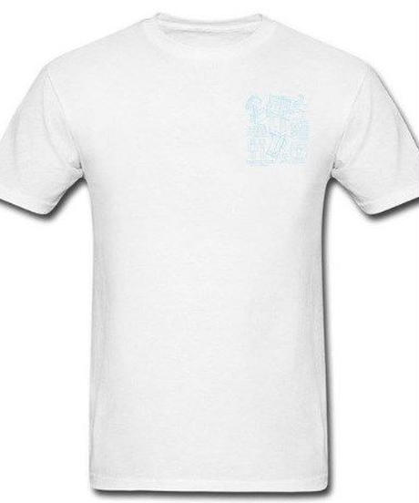 Minecraft チェスト ワンポイント スティーブ プリント 半袖Tシャツ 解剖図 ユニークイラスト 男女兼用 7カラー