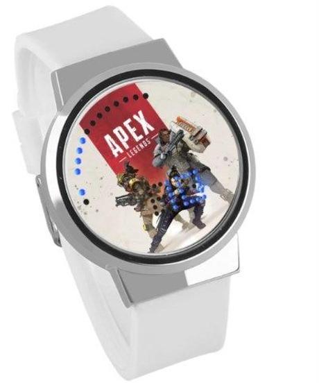APEX LEGENDS ロゴ イラスト 文字盤 ウォータープルーフ LED 腕時計 男女兼用 07