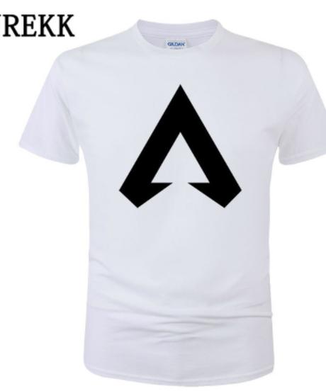 【備考欄要サイズ記載】APEX LEGENDS ロゴマーク フロントプリント シンプル 半袖 Tシャツ トップス インナー 選べる7カラー