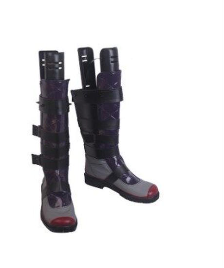 APEX LEGENDS レイス コスプレ コンバットブーツ 男女兼用 22~27cm対応 クールデザイン レイス ロングブーツ