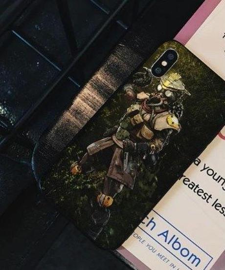 APEX LEGENDS イラストデザイン iPhoneケース 高品質 アンチノック クール バックカバー