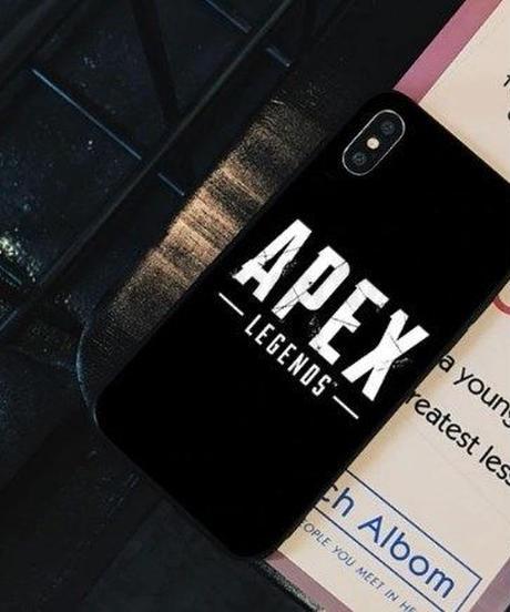 APEX LEGENDS ロゴデザイン iPhoneケース 高品質 アンチノック バックカバー