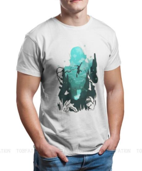 【備考欄要サイズ記載】APEX LEGENDS オクタン キャラクターデザイン シルエット 背景プリント 半袖 メンズ Tシャツ S~6XL 選べる11カラー