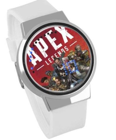 APEX LEGENDS ロゴ イラスト 文字盤 ウォータープルーフ LED 腕時計 男女兼用 08