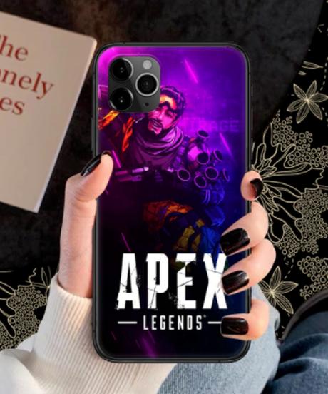 【備考欄要機種記載】APEX LEGENDS キャラクター ロゴ レター 全面プリント iPhoneケース iPhone12mini 12 12Pro 12ProMAX対応 選べる15柄