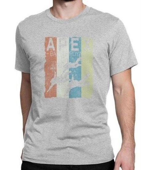 APEX LEGENDS レトロ イラストデザイン メンズ 半袖Tシャツ プリント サマー トップス 高品質 大人用 100%コットン  S~6XL グレー