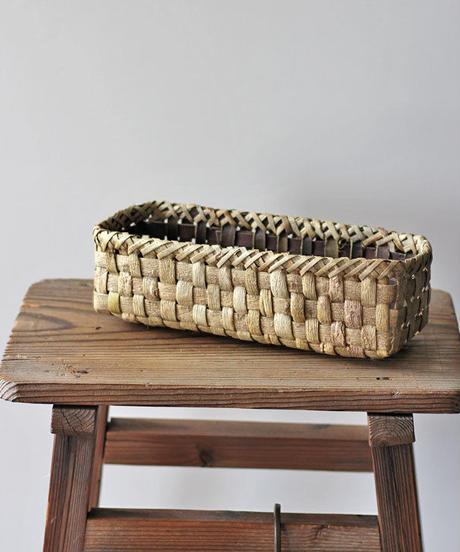 沢胡桃の置き籠   (クルミ/くるみ/籠)  オズのかごバッグ