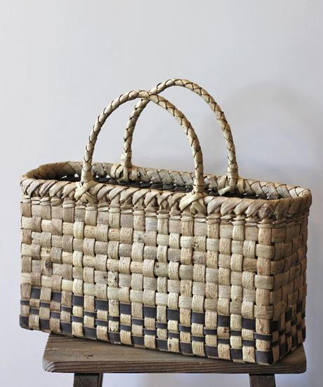 胡桃のかごバッグ  (クルミ/くるみ/籠)  オズのかごバッグ