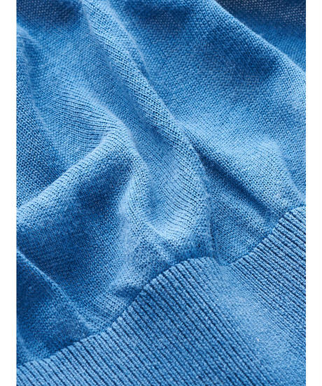 SILK KNIT CARDIGAN / NUIT BLUE