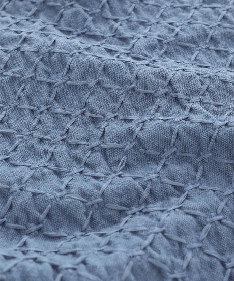 "LIKE A ""SASHIKO"" PLACE MAT / NUIT BLUE"