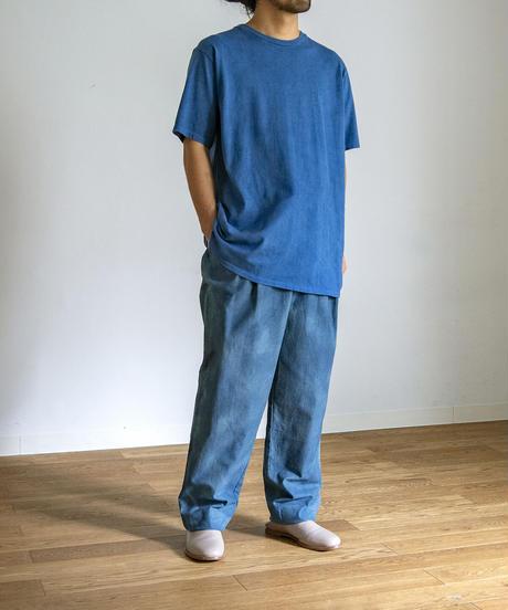 CREW NECK T-Shirt  / NUIT BLUE