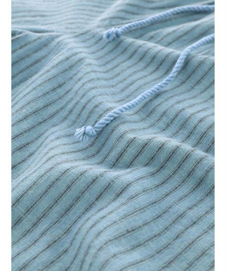 STRIPE RILAX TAPERED PANTS / MATIN BLUE