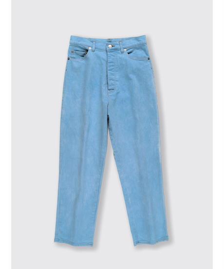 DENIM STRAIGHT PANTS / MATIN BLUE