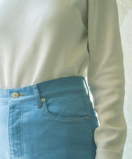 DENIM STRAIGHT PANTS / NUIT BLUE