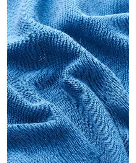 SILK KNIT SLEEVELESS TOPS / NUIT BLUE