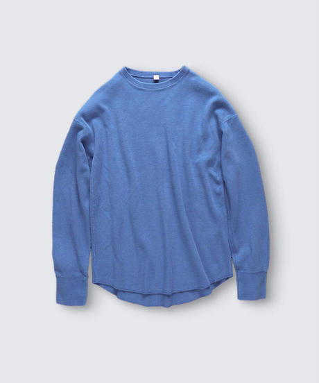 HONEYCOMB LONG SLEEVE PULLOVER / NUIT BLUE / SIZE2&3