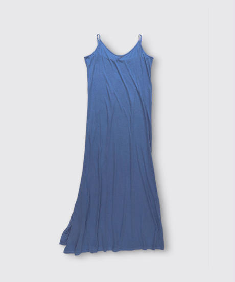 ORGANIC COTTON JERSEY ONE PIECE DRESS / NUIT BLUE