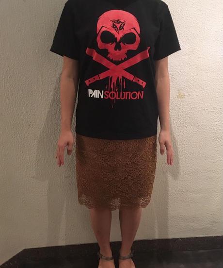 PAIN SOLUTION(ペインソリューション)Tシャツ/ブラック