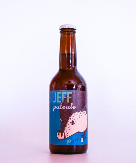 JEFF Pale Ale, pack of 2  ジェフ・ペールエール 330ml 2本