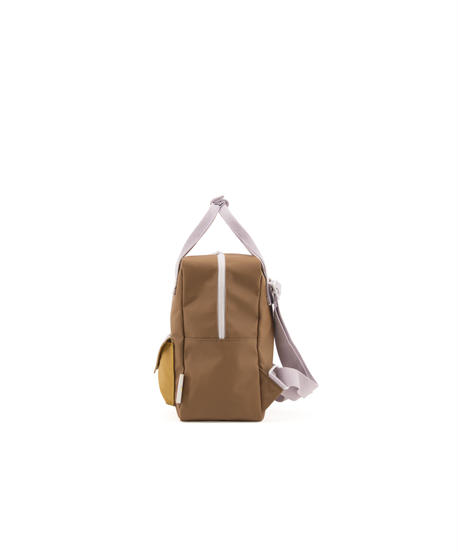 【 Sticky Lemon 】 BACKPACK ENVELOPE / CARAMEL FUDGE x S.BROWN / size S