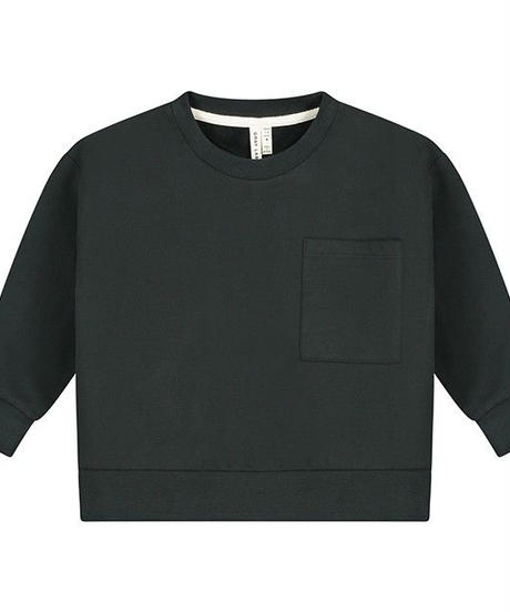 【 GRAY LABEL 2019AW】Boxy Sweater / Nearly Black