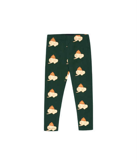 【 tiny cottons 2019SS 】AW19-006-007 LUCKYPHANT PANT / bottle green/light cream