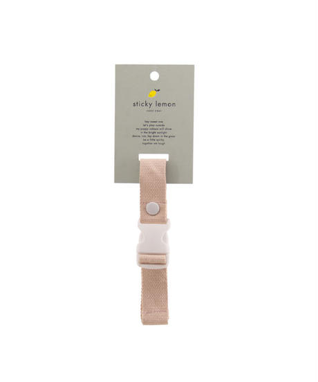 【 Sticky Lemon 】CHEST STRAP / SOFT PINK