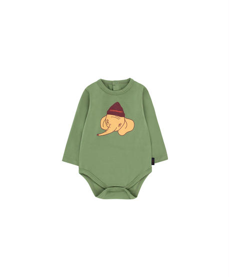 【 tiny cottons 2019SS 】AW19-050 LUCKYPHANT LS BODY / green wood/sand