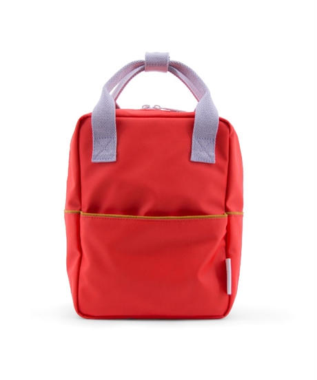 【 Sticky Lemon 】 BACKPACK CORD / SPORTY RED / size S
