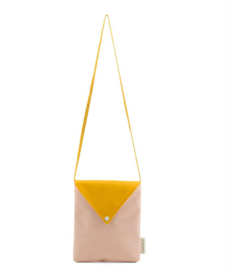 【 Sticky Lemon 】 ENVELOPE BAG / SOFT PINK