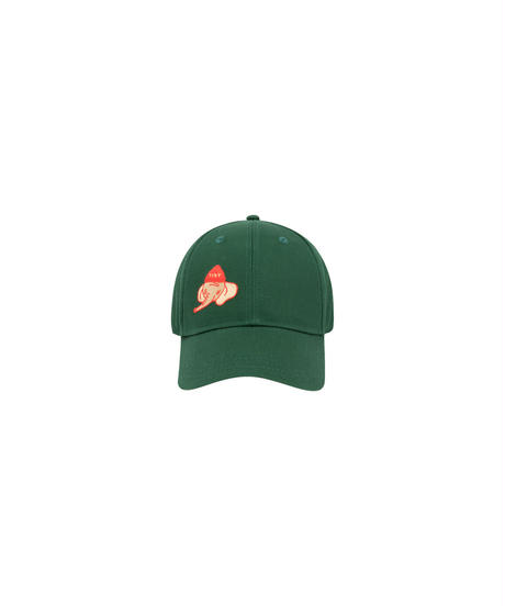 【 tiny cottons 2019SS 】AW19-313 LUCKYPHANT CAP / bottle green/sand