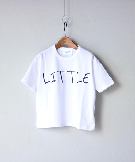 【 nunuforme 2020SS 】littleプリントT [nf13-898-500A] / White