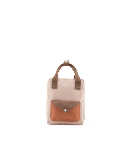 【 Sticky Lemon 】 BACKPACK ENVELOPE / TANGERINE x P.PINK / size S