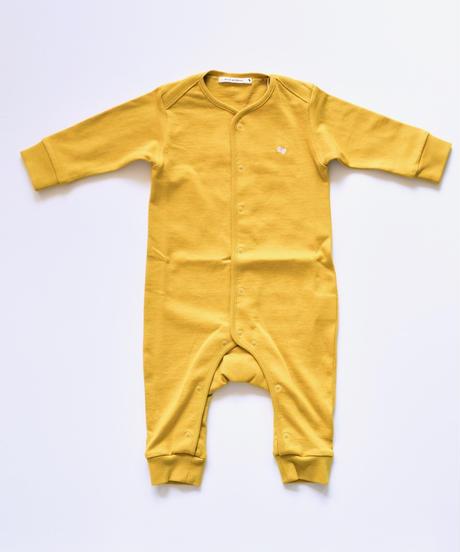 """【 ミナペルホネン 19AW 】XA8986P zutto  """"ロンパース"""" / yellow / 70cm"""