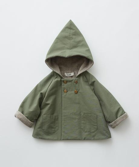 【 eLfinFolk 2019AW 】elf-192F22 elf coat / sage green / 110 - 130cm