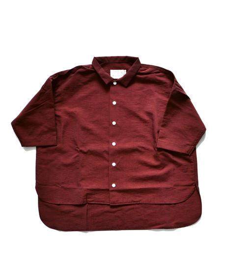 【 SWOON 2019AW 】sw12-500-081 ワイドシャツ / Purple
