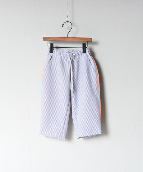 【 MOUN TEN. 2020SS 】sheersucker side line pants [MT201013-a] / stripe